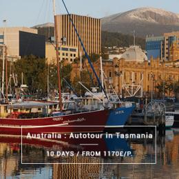 Australia : Autotour in Tasmania - 10 days from 1170£