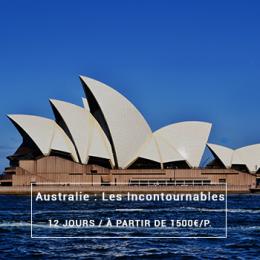 Australie : Les incontournables - 12 jours à partir de 1500€