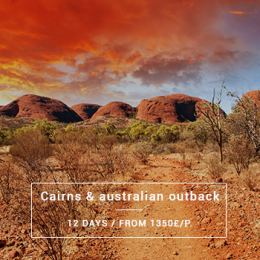 Cairns & Australian Outback - 12 days from 1350£