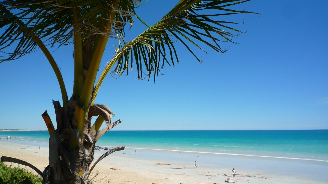 Beautiful beach in Broome, Australia