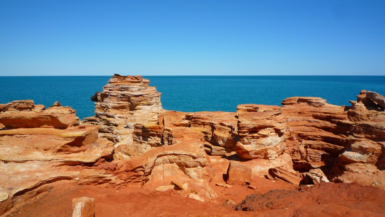 Red Cliffs, Broome : Australia