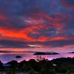 Coucher-du-soleil-Noosa-Australie
