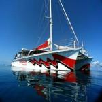 Grande Barrière de coral, virée en catamaran