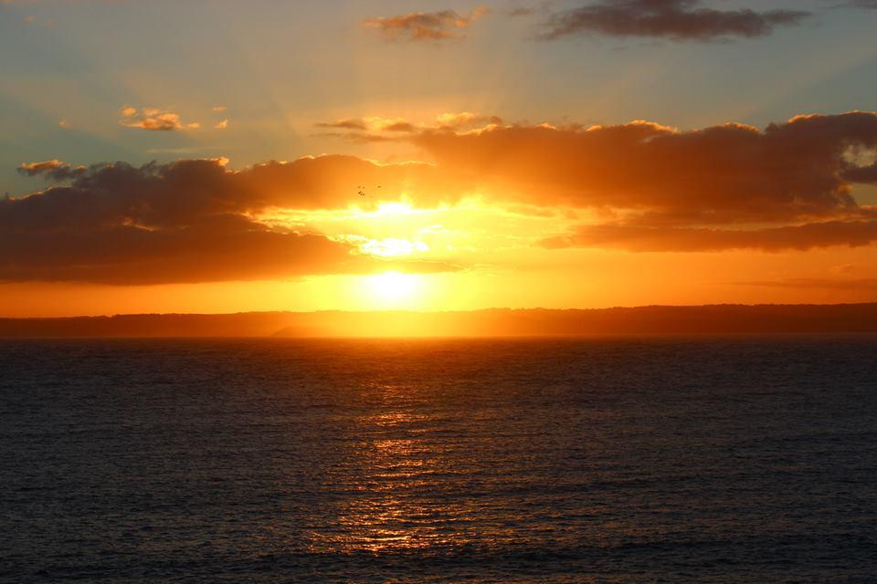 Coucher du soleil en Australie