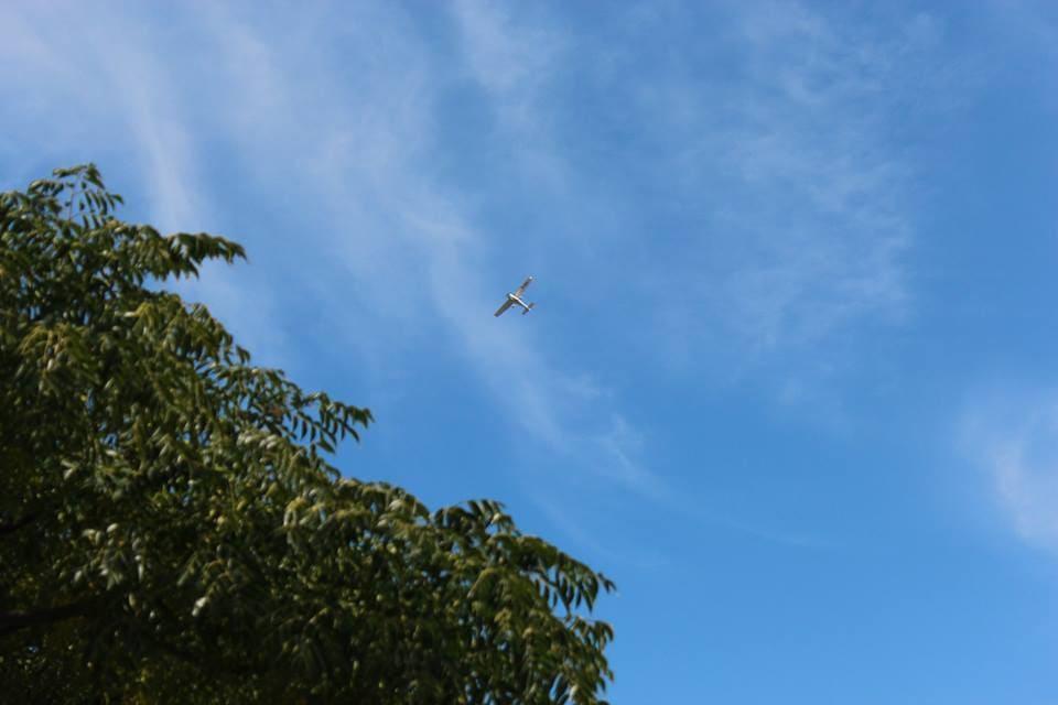 Un avion dans les airs : Australie