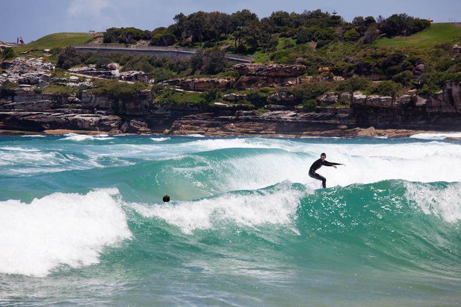 Plage de Bondi, Sydney : Australie