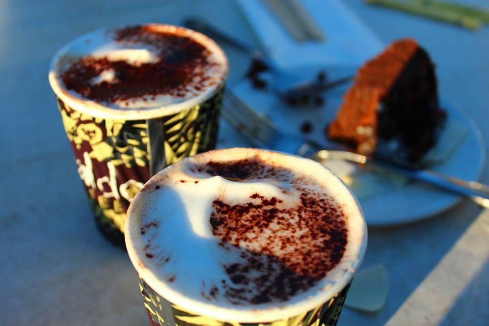Café sur terrasse en Australie