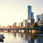Yarra river, Melbourne : Australie